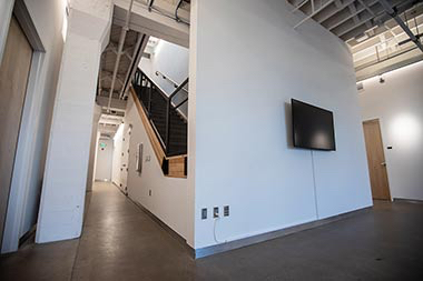 510 Oak building interior