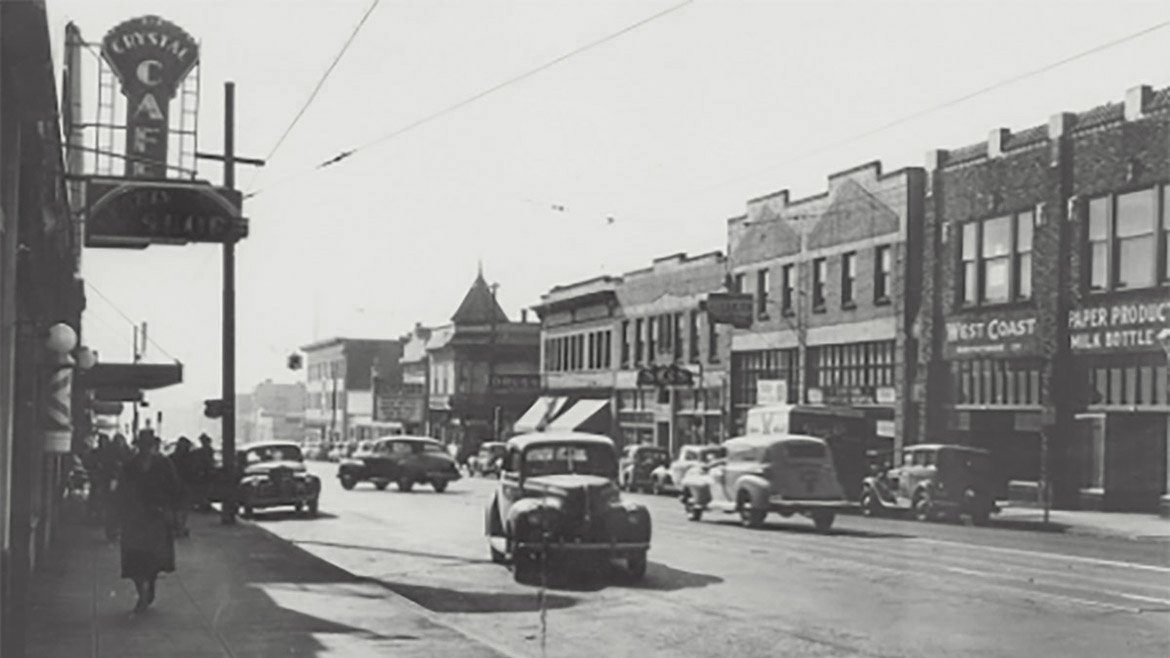 Portland's Albina neighborhood circa 1950
