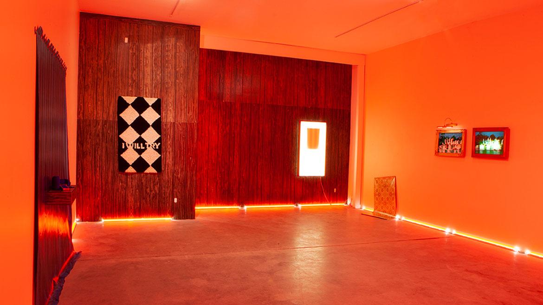 Artist Leslie Vigeant's 2020 'Habit & Home' show at Carnation Contemporary