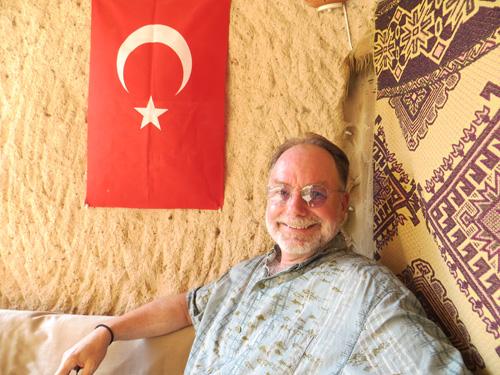 Brad Black in Turkey