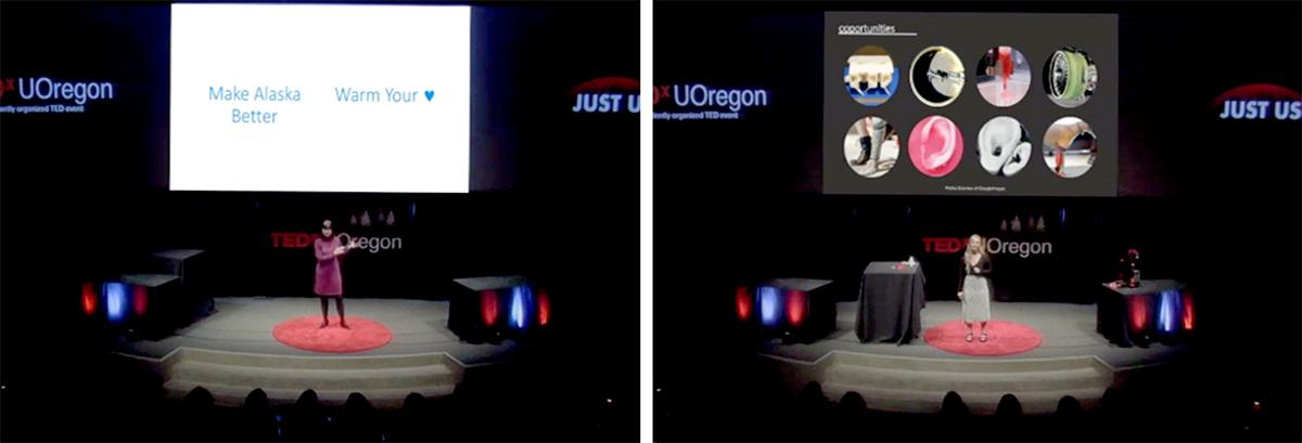 Speakers at TEDxUOregon
