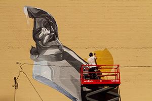 Hamilton painting mural