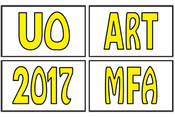 UO 2017 MFA Exhibition logo