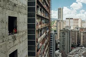Torre David in Caracas, Venezuela