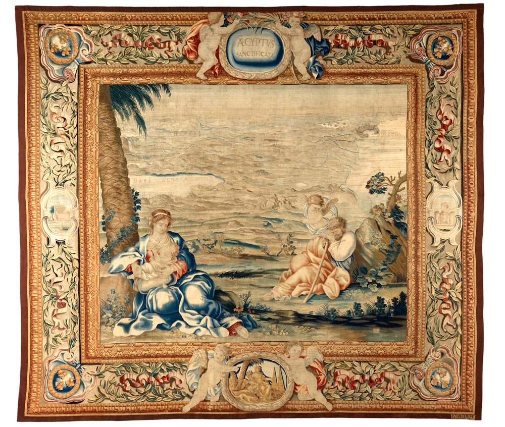 Rare tapestries spring to new life in stunning show co-curated by ...