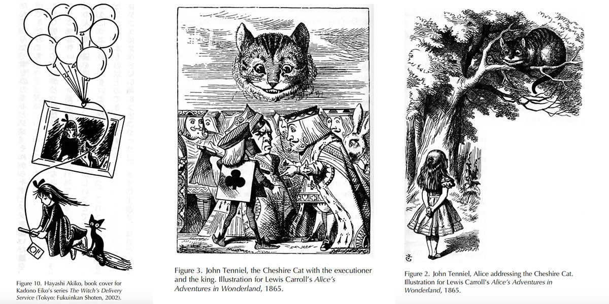 Illustrations from Alice in Wonderland