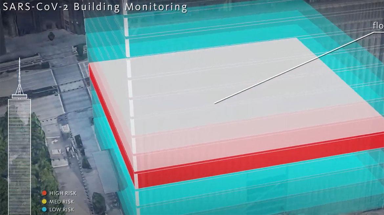 hospital monitoring rendering
