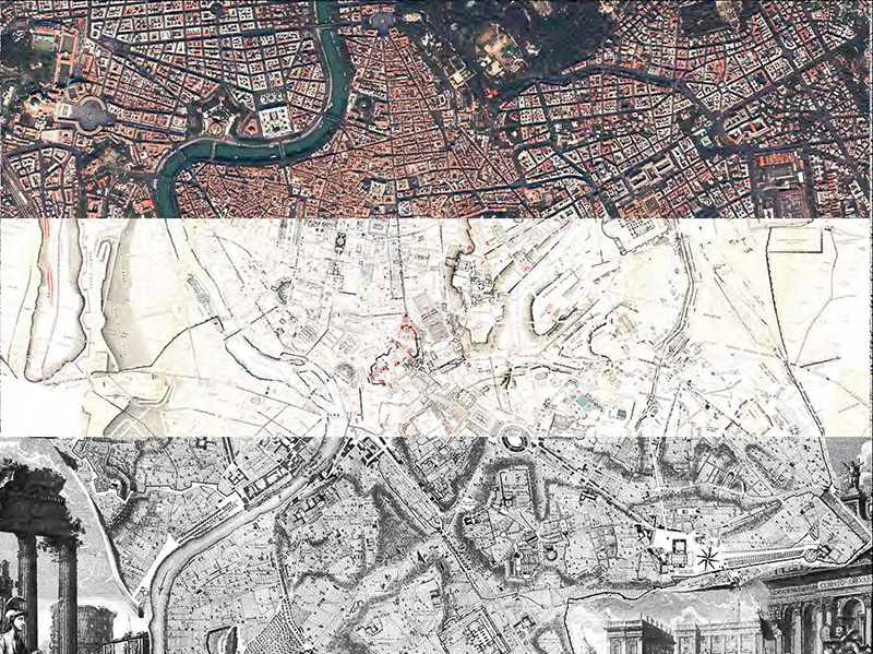 Exhibition features interactive maps of Rome College of Design