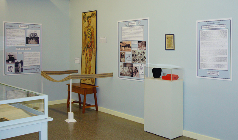 one section of the exhibit