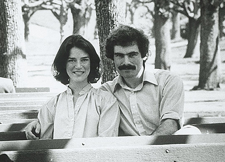 Marsha Maytum and Bill Leddy in 1977