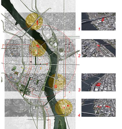 """Campus of Hope: Prospective Site Locations."" Graphic by Joe Baldwin, Opsis Architecture."