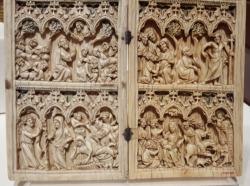 ivory diptych