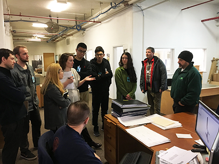 Students meet at Oregon Correctional Enterprises