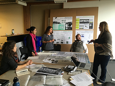Architecture Studio Students architecture students get 'hydro-logical' about climate change