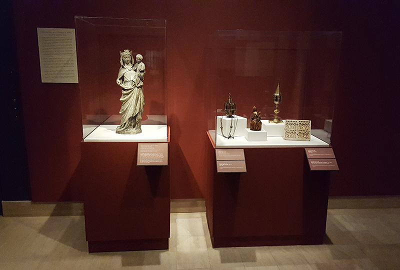 Objects on loan from the Metropolitan Museum of Art