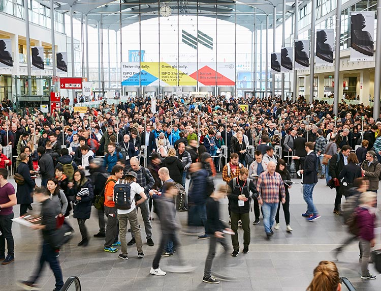 Crowd at ISPO Munich 2018