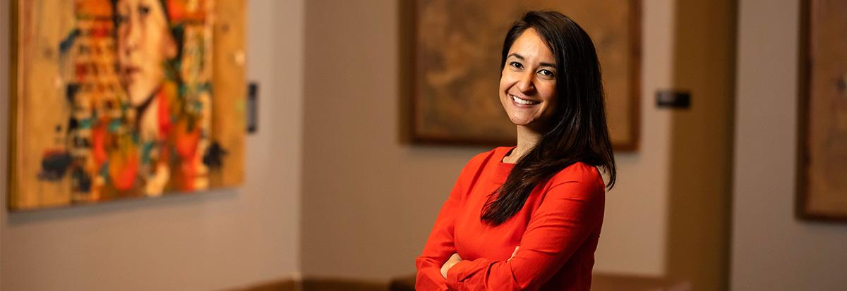 Art History Assistant Professor Jenny Lin