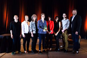 Professor Muenchinger and her team won the 2018 Sustainable Practice Impact Award.