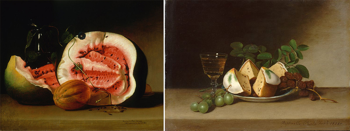 Still life paintings by Raphaelle Peal