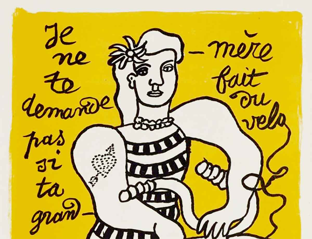 artwork by Fernand Leger