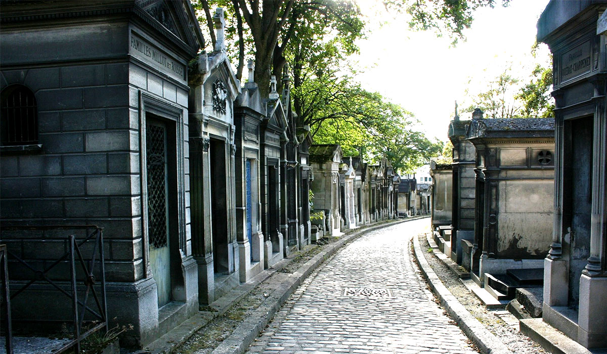 Photo of Pere Lachaise cemetery
