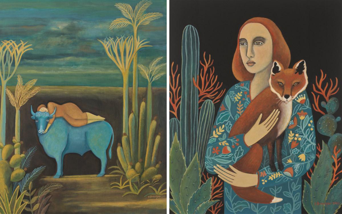 Paintings by Sharon Bronzan