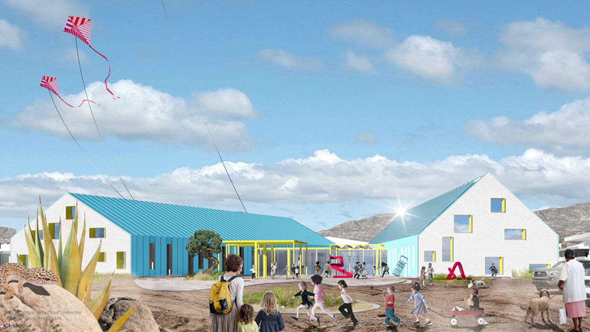 A rendering of 'Little Dipper Elementary' by Team Polaris