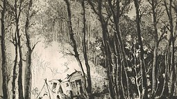 Etching by Mildred Bryant Brooks