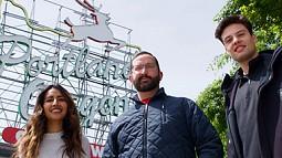 Natasha Anand, Drew McGrath, and Nick Cantrell