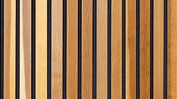 photo of wood slats