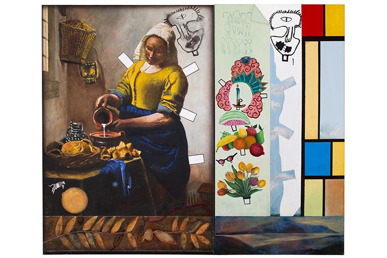 Jeri Hise's Vermeer Series painting